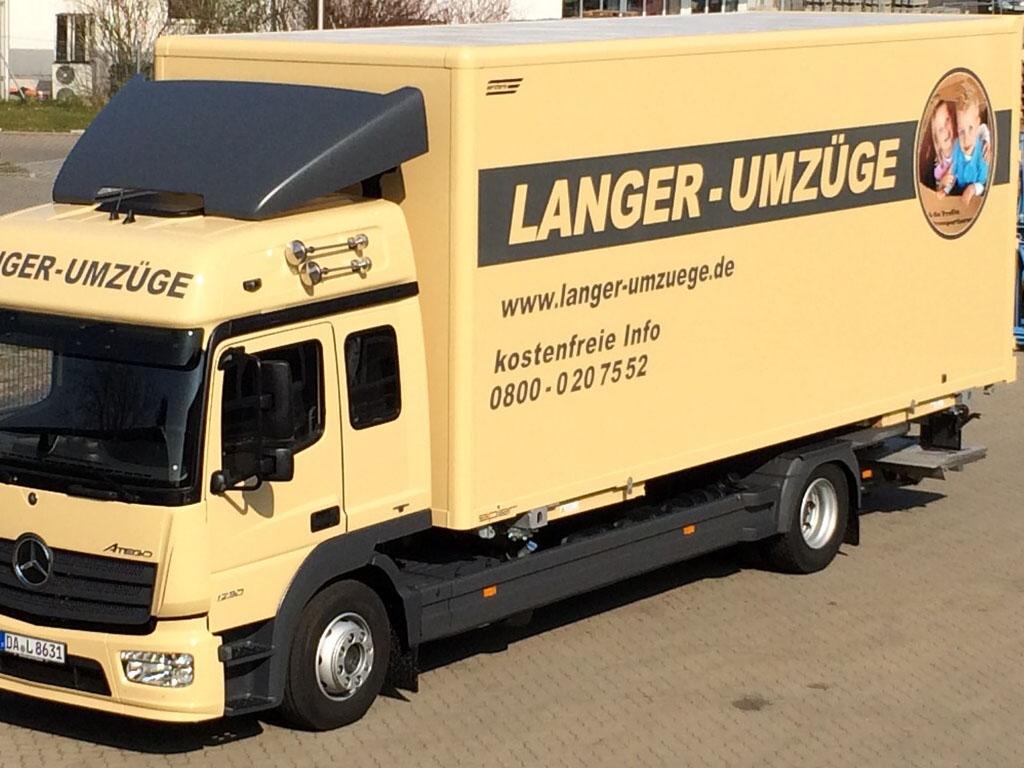 Umzug LKW der neuen Generation 2.0. Dank EURO 5 Norm - Schadstoffarm und Umweltbewußt.