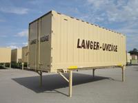 Möbelkoffer - Container geschlossen