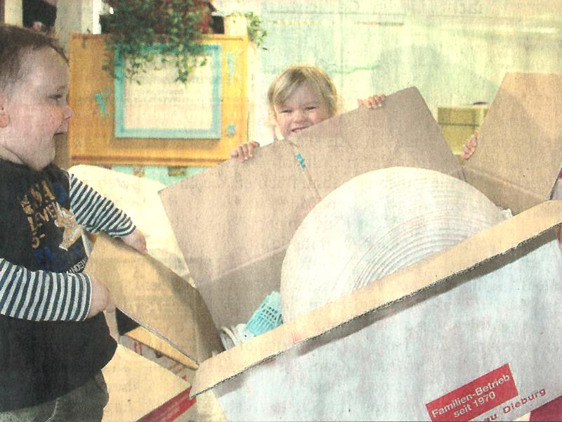 Packen für den Rück-Umzug in Dieburger Anzeiger 06/2013