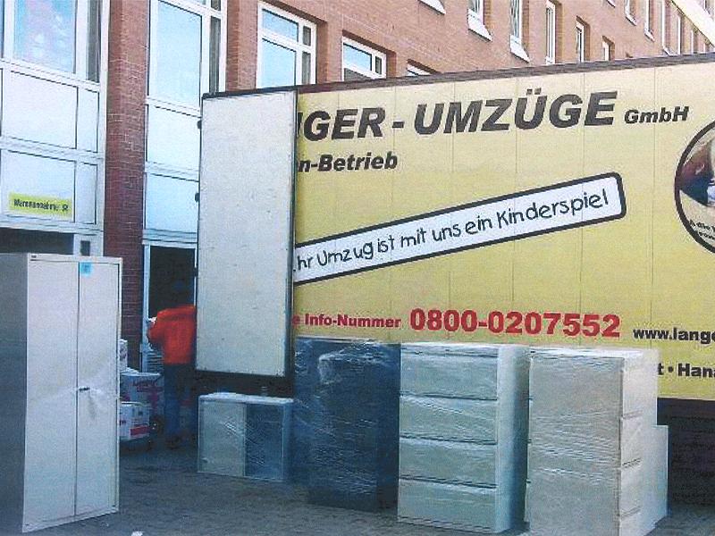 Ämter ziehen in die Auhofstraße um in Main-Echo 05/2012